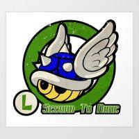 Luigi's Driver Training Art Print