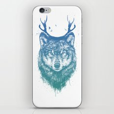 Deer wolf iPhone & iPod Skin