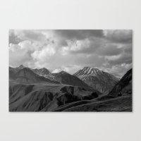 Black Mountains Canvas Print