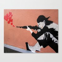 I LOVE YOUR GUN Canvas Print