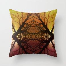 Quad tree #2 Throw Pillow