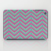 Hot Pink & Mint iPad Case