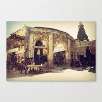 The Armenian Quarter Canvas Print