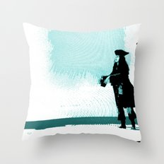 Shoo. Throw Pillow