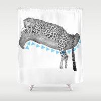 Going Wild  Shower Curtain