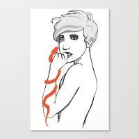 Snake Charmers S1E4 Canvas Print