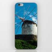 Old Windmill iPhone & iPod Skin