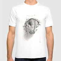 Pickaboo! Mens Fitted Tee White SMALL