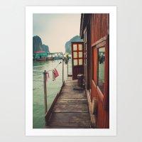 Fisherman's Backyard Art Print
