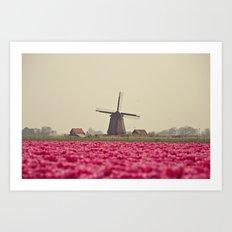 Postcard from Netherland Art Print
