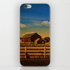 Sunset Over The Farm iPhone & iPod Skin