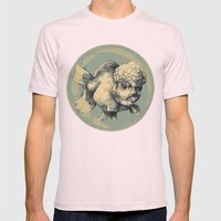 Bubble Head Fish Mens Fitted Tee Light Pink SMALL