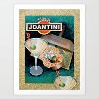 Dirty Joantini Art Print