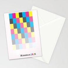 50 shades of CMYK Stationery Cards