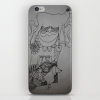 dackel & deer iPhone & iPod Skin