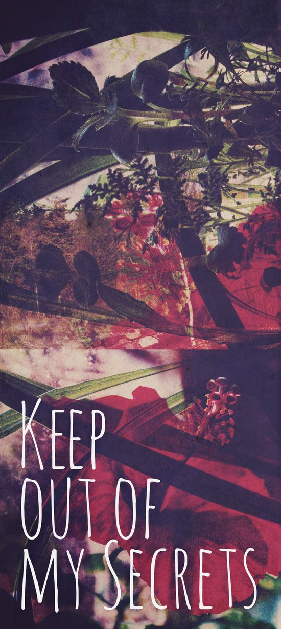 Keep Out Art Print