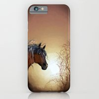 iPhone & iPod Case featuring HORSE - Misty by Valerie Anne Kelly