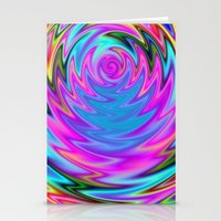Psychedelic 60s Stationery Cards