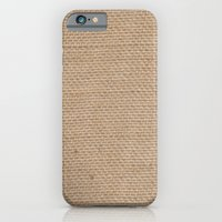 iPhone & iPod Case featuring BURLAP by natalie sales