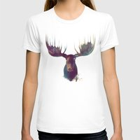 nature T-shirts featuring Moose by Amy Hamilton