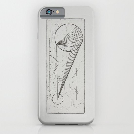 Etched print no. 1 iPhone & iPod Case