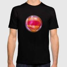 Drops of Superhero #2... Mens Fitted Tee Black SMALL
