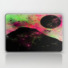 A World Of Colour - Abstract space scene, black and white and colour Laptop & iPad Skin