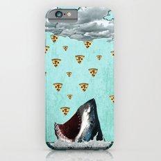 Pizza Shark Print iPhone 6 Slim Case