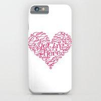 Get In My Heart iPhone 6 Slim Case