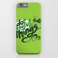 iPhone & iPod Case featuring I'm Your @$#!%*& Conscience! by Brian Walline