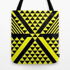 Black & Yellow Tote Bag
