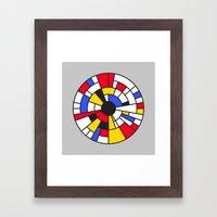 Roundrian Framed Art Print