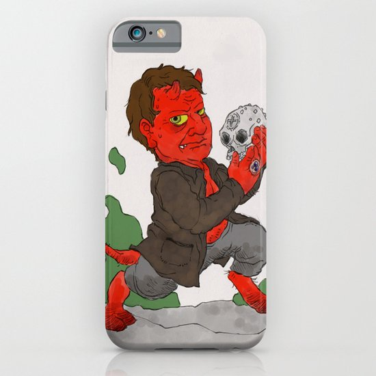 """""""Hell in a Handbasket"""" by Virginia McCarthy iPhone & iPod Case"""
