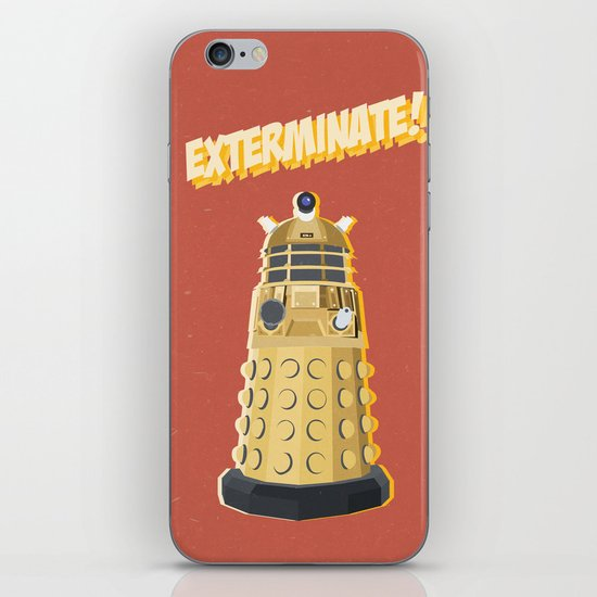 Dalek Doctor Who iPhone & iPod Skin