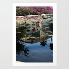 Reflections of you Art Print