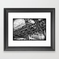 Looking Up By: Augle Framed Art Print