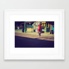 Beale St. Jumper Framed Art Print