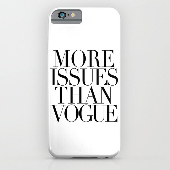 MORE ISSUES 2 iPhone & iPod Case