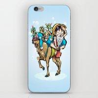 A One Piece Tony Tony Chopper Christmas iPhone & iPod Skin
