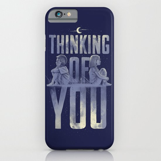 'Thinking of You' iPhone & iPod Case