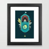 Aquatic Adventurer Framed Art Print