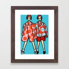 file 081. bold as love Framed Art Print