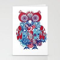 SPIRO OWL Stationery Cards
