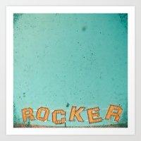 Rocker Art Print