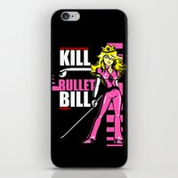 Kill Bullet Bill (Black/Magenta Variant) iPhone & iPod Skin