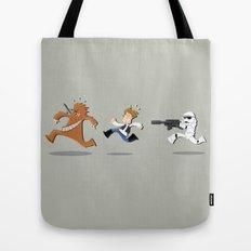 Han Solo & Chewbacca Tote Bag