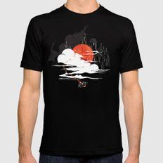 Uncharted Voyage Mens Fitted Tee SMALL Black