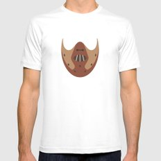 THE SILENCE OF THE LAMBS Mens Fitted Tee White SMALL
