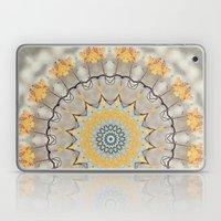 Mellow Yellow And Caroli… Laptop & iPad Skin