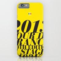 2013 Tour de France: Maillot Jaune iPhone 6 Slim Case